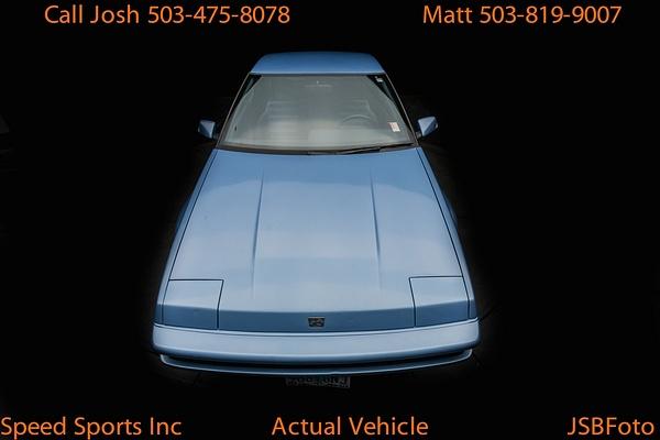 Subaru XT coupe by MattCrandall