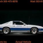 1982 Camaro Pace Car