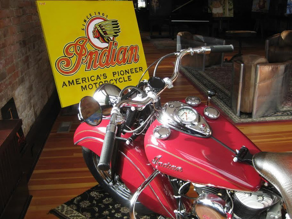 1948 Indian Chief by MattCrandall