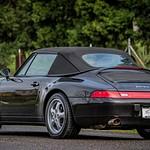 Porsche 993 C4 Cab Black