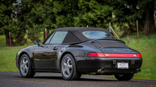 Porsche 993 C4 Cab Black by MattCrandall