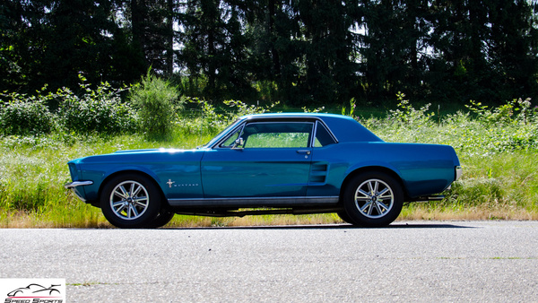 67 ford mustang coupe by MattCrandall