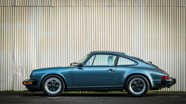 1988 Porsche 911 Venitian Blue by MattCrandall