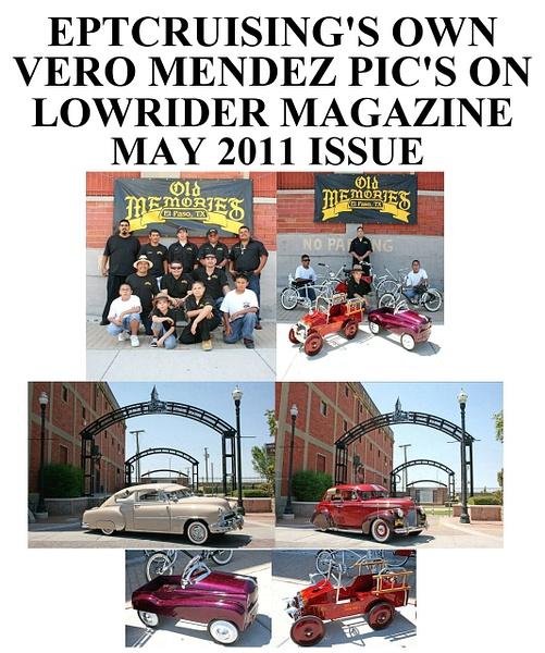 LOWRIDER MAG. - 2011