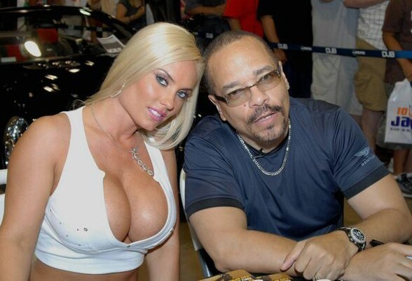 TV SHOW COCO AND ICE T - Los Angeles, Ca.