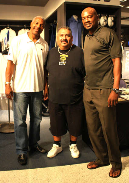 Former Dallas Cowboys Players Everson Walls & Richard Downs - Dallas, Tx.