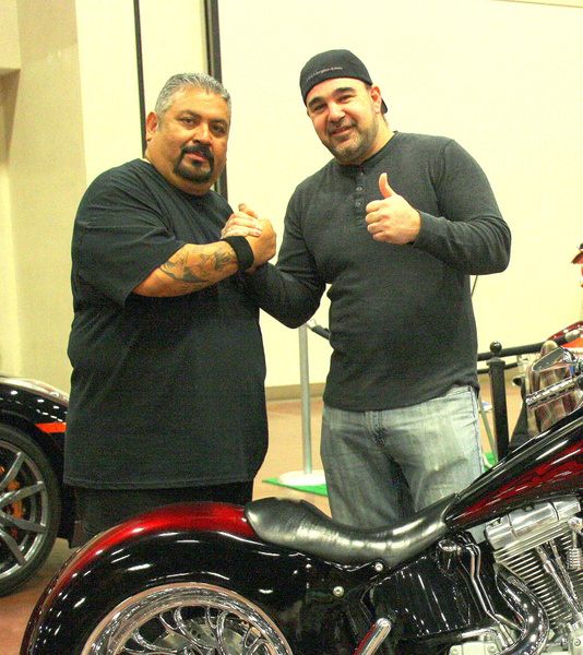TV SHOW AMERICAN CHOPPERS - Vinnie De Martino