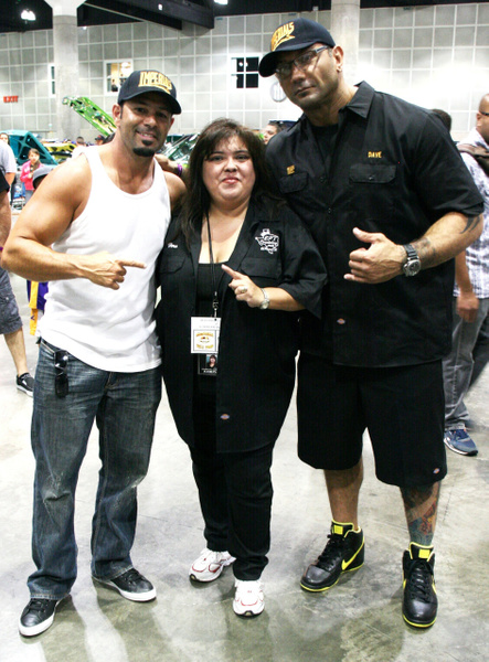 Wwe's Chavo Guerrero & David Batista - Los Angeles, Ca.