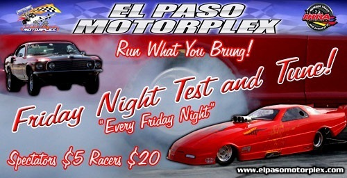 FRIDAYS AT EP MOTORPLEX