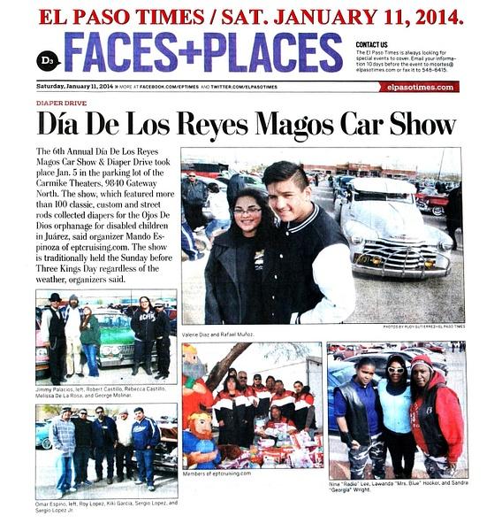 EL PASO TIMES -  1/11/14