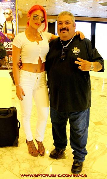 WWE's Diva Eva Marie - LV, Nv. 2014
