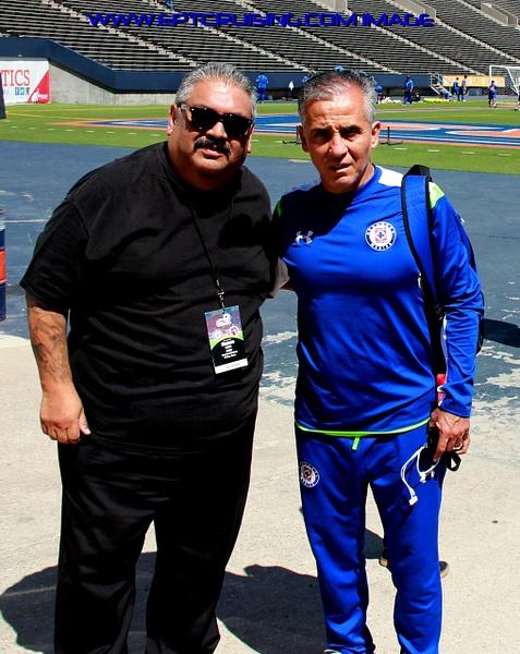 Cruz Azul Coach Sergio Bueno