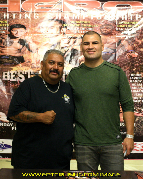 Former UFC Champion Cain Velasquez