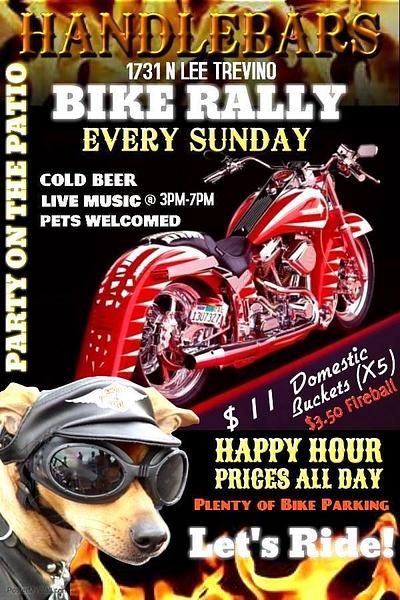 Sundays Bike RALLY