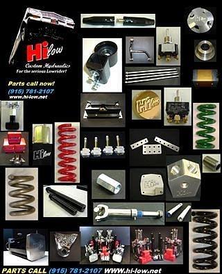 Hi Low Hydraulic Parts