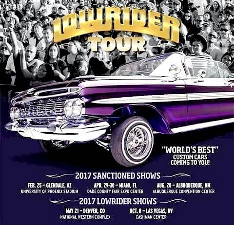Lowrider Magazine Tour 2017