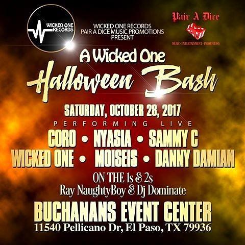 Sat. Oct. 28 / Buchanas Event Center