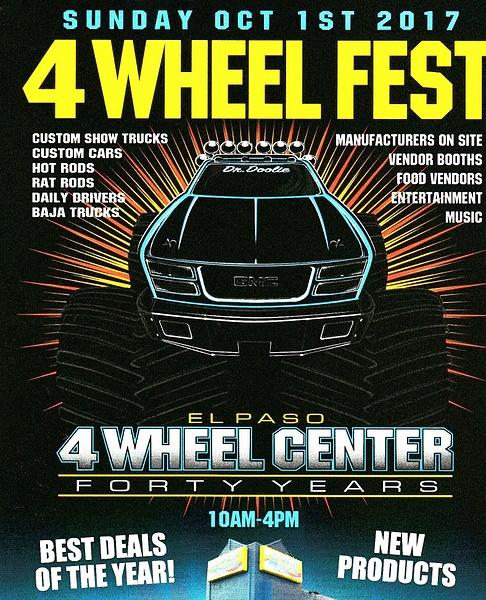 Oct. 1 / 4 Wheel Center