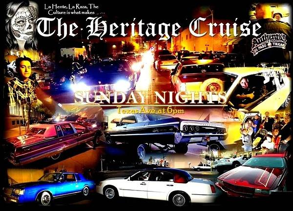 Texas St, Cruise Every Sunday