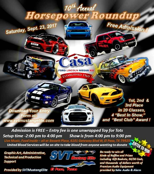Sat. Sept. 23 / Car Show