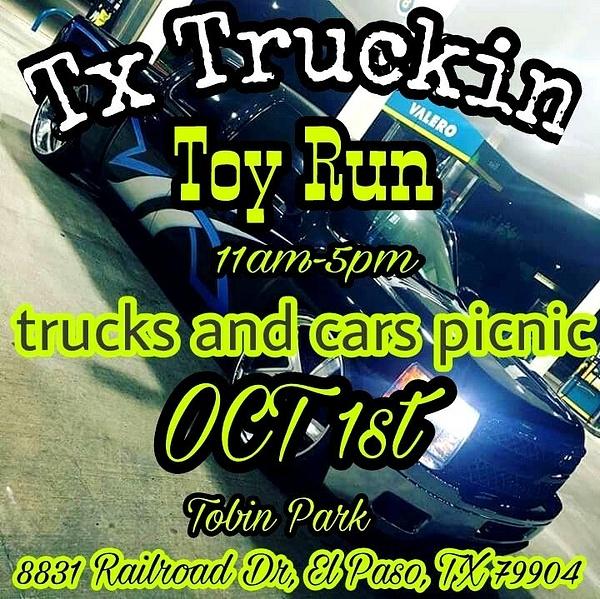Oct. 1 / Toy Run