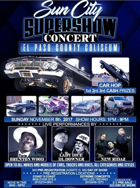Nov. 5 / EP County Coliseum