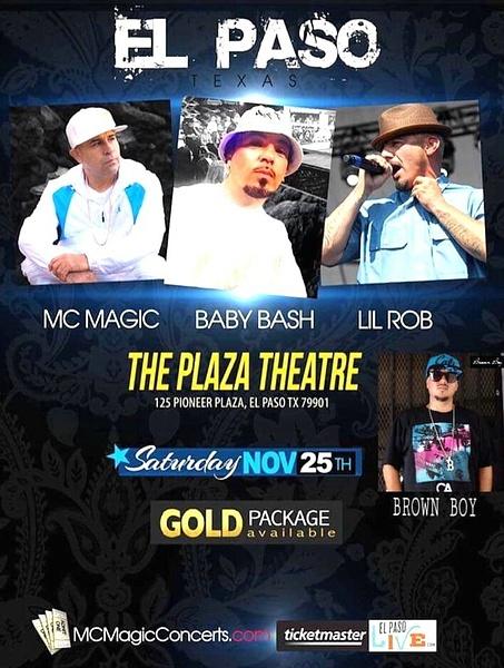 Sat. Nov. 25 / Plaza Theater