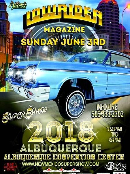 JUNE 3 / ALBUQUERQUE, NM.