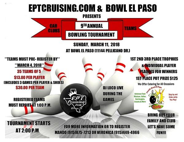 MARCH 11 / BOWL EL PASO