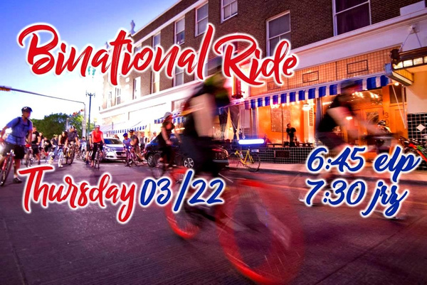 THURS. MARCH 22 / BICYCLE RUN