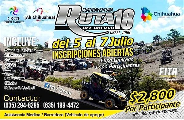 5 - 7  JULY / CREEL, CHIH. MX.