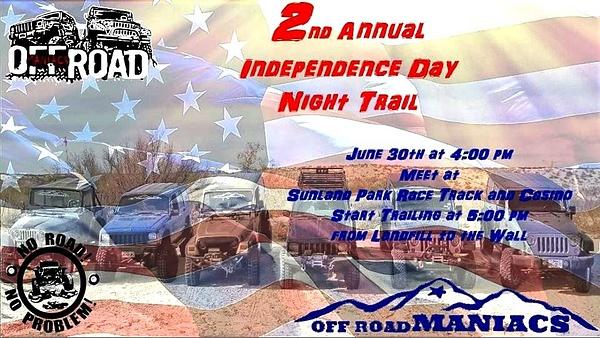 SAT. JUNE 30 / SUNLAND PARK, NM.