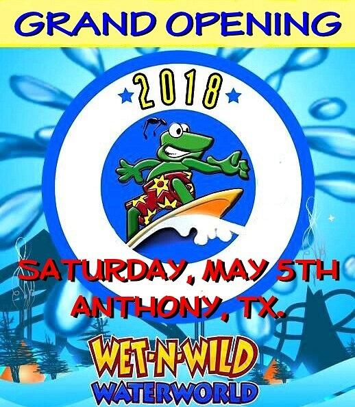 SAT. MAY 5 / ANTHONY, TX.
