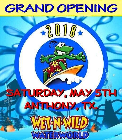 SAT. MAY 5 / ANTHONY, TX.