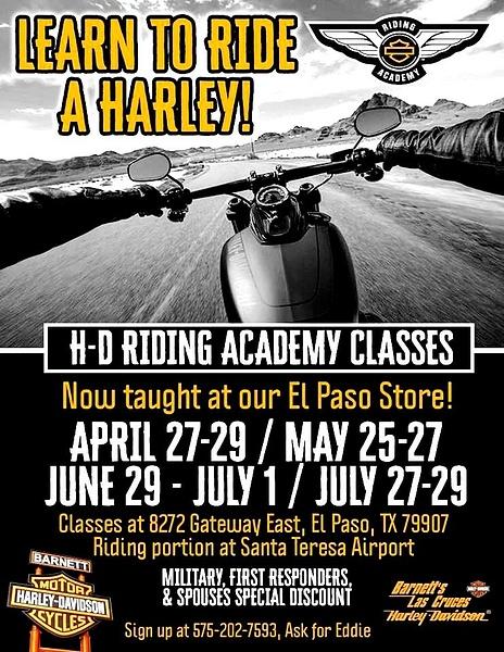 HARLEY BIKE CLASSES