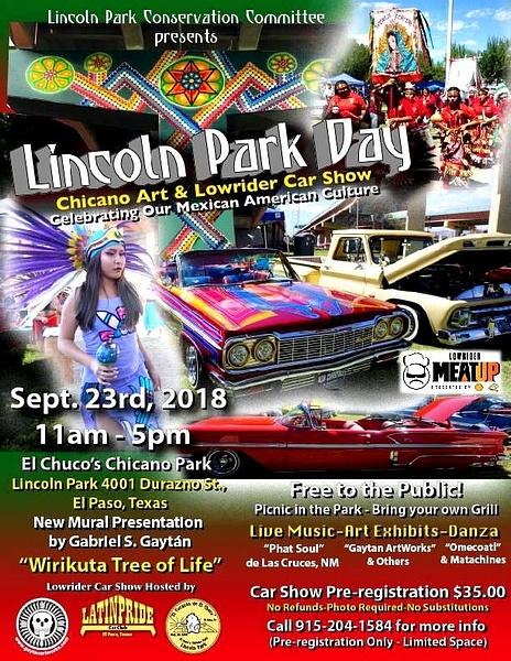 SEPT. 23 / LINCOLN PARK