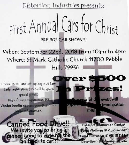 SAT. SEPT. 22 / CANNED FOOD DRIVE