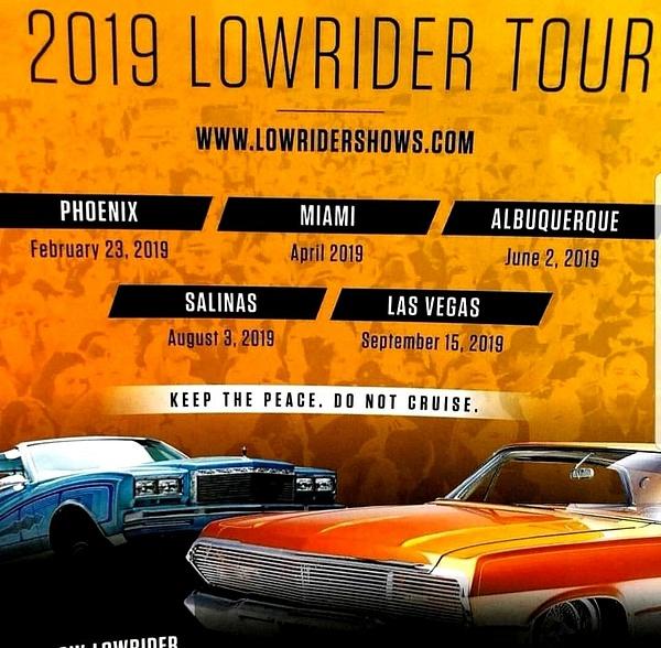LOWRDIER MAGAZINE 2019 TOUR