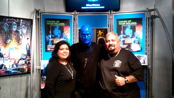 BLUE MAN GROUP / LAS VEGAS, NV.