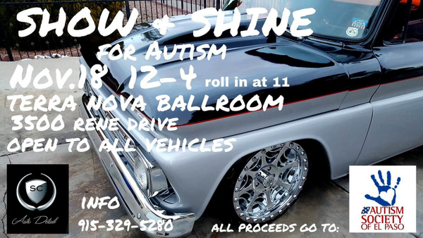 NOV. 18 / SHOW N' SHINE BENEFIT