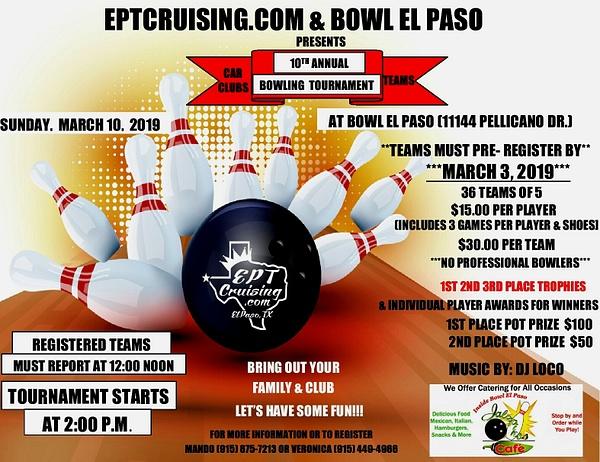 MARCH 10 / BOWL EL PASO