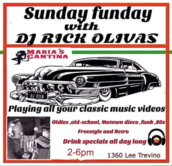 EVERY SUNDAY / MARIA'S CANTINA