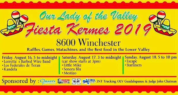AUG. 16 - 8 / KERMESS