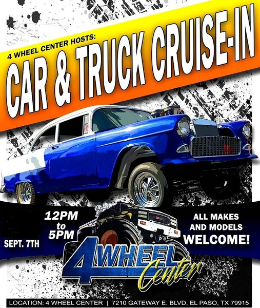 SAT. SEPT. 7 / CRUISE IN