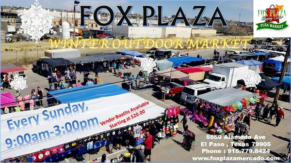 FOX PLAZA SWAP MEET SUPPORTER
