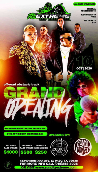 SAT. OCT. 10 /  GRAND OPENING