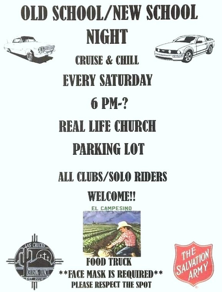 EVERY SAT. CRUISE / LAS CRUCES, NM.