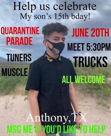JUNE 20 / ANTHONY, TX.