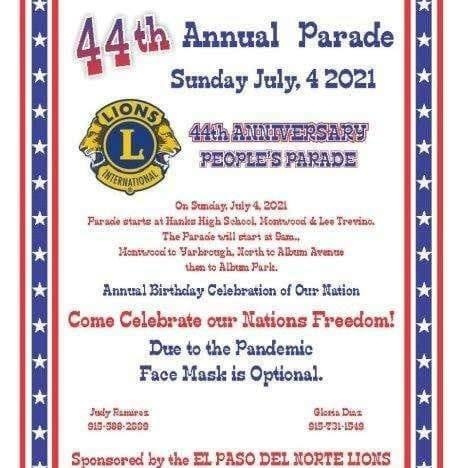 JULY 4 / PEOPLE'S PARADE