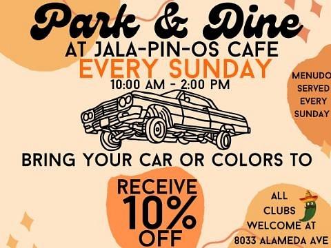 PARK & EAT / JALA - PIN - OS CAFE